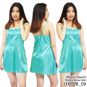 Daster tanktop satin baju dress bridesmaid tosca 1331TDR by Folva